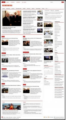 قالب خبری وردپرس انگلیسی Newswire نسخه 1.3.2